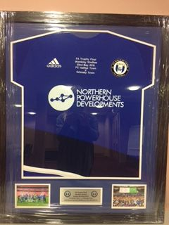 Framed Wembley Shirt