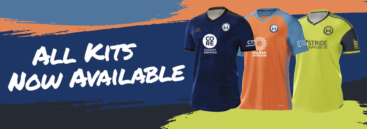 New FC Halifax Kits